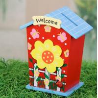 Wholesale wooden money box for children,money safe box from china suppliers