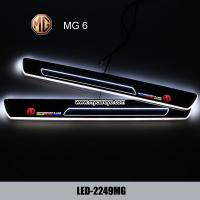 Wholesale MG 6 car led door courtesy logo lights auto Welcome Pedal for sale from china suppliers