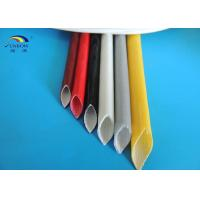 Wholesale Electric Wires Varnished Silicone Fiberglass Sleeving High Temperature Resistant from china suppliers