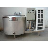 Wholesale 500L Vertical Milk Cooling Tank , Refrigerated Milk Cooling Equipment from china suppliers