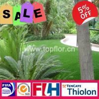 Buy cheap High quality wholesales different color artificial turf for garden synthetic grass from wholesalers