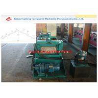Wholesale Floor Decking / Roof Cap Ridge Cold Roll Forming Machine 15m/min from china suppliers