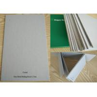 Buy cheap Unbleached Grade AA Full Grey Book Binding Board for Hardcover / Desk Calendar from wholesalers