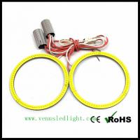 Wholesale 2x 9V-30V 120mm 144leds Car COB Led Angel Eyes Halo Ring Light Fog B144 from china suppliers