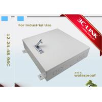 Wholesale Waterproof Wall Mount Outdoor Fiber Cabinet Fiber Optic Distribution Frame 24 Cores from china suppliers