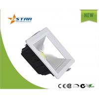 Buy cheap 25W Square COB Led Recessed Ceiling Lights CRI>75, 90DEG Angle from wholesalers