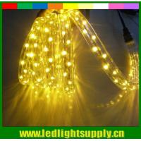 Wholesale 220v DIP 3 wires 11x17mm flat led rope lights with translucent PVC from china suppliers