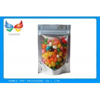 Wholesale Self Standing Stand Up Pouches With Window , Tea Packaging Zip Food Bags from china suppliers