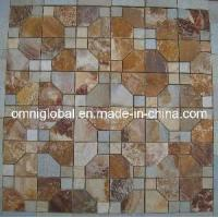 Wholesale Slate Mosaic Octagon Pattern from china suppliers