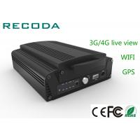 Wholesale 4ch 1080P HDD Mobile Vehicle DVR 3G / 4G Live View Car Dvr Video Recorder from china suppliers