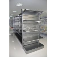 Quality Supermarket Display Racks , Metal Retail Shelving ISO9001 Certification for sale