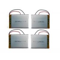Wholesale Customized Rc Helicopter Battery / 3.7 V 3000mah Lipo Battery , Long Cycle Life from china suppliers