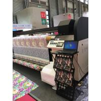 Quality Inkjet Textile Printing Machine , Two / Four Kyocera Heads Banner Plotter Printer for sale