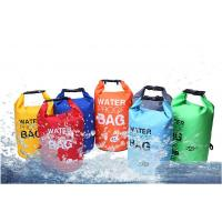 Wholesale OEM waterpro dry bag 5L/10L/15L/20L/Colorful light weight wet dry bag for swimming/camping/hiking/waterproof dry bag from china suppliers
