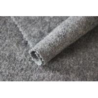 Wholesale Soft Knitting Boiled 100% Merino Wool Fabric For Apparel 550G / M Weight from china suppliers