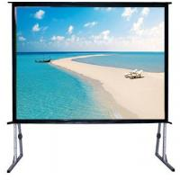 "Wholesale 120"" Fast Fold Projector Screen With Flight Case / Outdoor Rear Projector Fabric Stand from china suppliers"