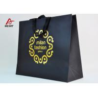 Wholesale Cotton Ribbon Personalized Wine Bags Paper Material , Custom Business Shopping Bags from china suppliers