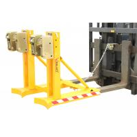 Wholesale Drum Lifting Equipment Clamp Attachment With Double Grippers In One Supporting Bar from china suppliers