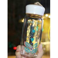 Wholesale Popular Nice Fashionable Water Bottles , Reusable Glass Drinking Bottles With Lids from china suppliers
