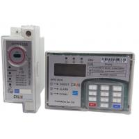 Wholesale Surge Safe Din Rail Kwh Meter Single Phase , Anti Tamper STS Prepaid Meters from china suppliers