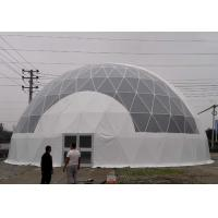 Wholesale UV Resistant / Waterproof Dome Shelter Tent Round Shaped With PVC Coated Cover Fabric from china suppliers