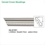 2017 newly polyurethane foam crown cornice moulding