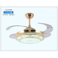 Wholesale 42inch 1080mm ceiling fan with light led ceiling fan 36w Crystal light  fan from china suppliers