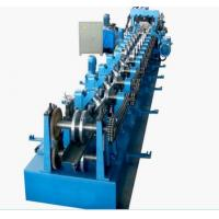 Quality Galvanized Steel CZ Purlin Cold Roll Forming Machine High Speed 0 - 12m/Min for sale