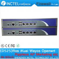 Wholesale ROS 8 Gigabit flow control Firewall style 1U with G1610 CPU 1000M 6 82574L 2 groups Bypass 2 82580DB fiber ports from china suppliers