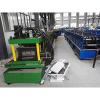 Wholesale 1.5-3Mm C Channel Roll Forming Machine / Galvanized Steel Sheet Metal Roll Former Machine from china suppliers