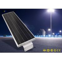 Wholesale 20W 5-6m Height 4 Rainy Days Last Solar Panel Street Lights Aluminum Alloy Material from china suppliers
