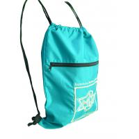 Quality Drawstring 420D nylon fabric back bags with emboidery logo nylon storage bags for sale