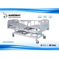 Wholesale Adjustable ICU Hospital Bed Three Function With Extensive Head Foot Section from china suppliers