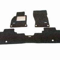 Quality 100% PVC Coil Car Mats with Special Set for Infiniti, Eco-friendly and Highly Flexible for sale