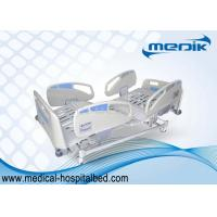 Wholesale Adjustable Electric Hospital Bed With Optional colour ABS Handrails from china suppliers