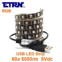Wholesale IP65 Water Proof LED Strip Flexible SMD 5050 Light Chains Party Decorated Lamps from china suppliers