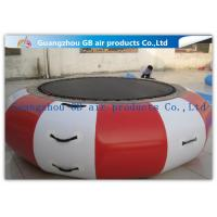 Wholesale Interesting Round Inflatable Water Game , Inflatable Trampoline For Water Jumping from china suppliers