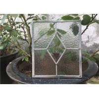 Wholesale Monolayer Glass Panes , Heat / Noise Resistance Decorative Glass Windows from china suppliers