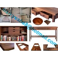 Wholesale 40mm high quality black walnutu wooden worktop accessories from china suppliers