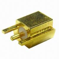 Wholesale MMCX for PCB Mounting, with Gold Plating from china suppliers
