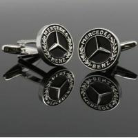 Quality 2013 new design MERCEDES BENZ Logo cuff link for sale