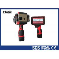 Wholesale Batch Number Handheld Inkjet Coder 600 Dpi For Nylon Fabrics ROHS Approved from china suppliers