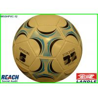 Wholesale Professional PVC Leather PU Leather Official Footballs Training Soccer Balls 32 Panels from china suppliers
