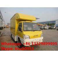 Wholesale JAC mini fast food truck,mobile food truck,fast food van 1.5 ton on sale, JAC brand gasoline ice-cream truck for sale from china suppliers