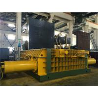 Quality Double Main Pressure Cylinder Hydraulic Scrap Baler Machine Round Packing Block for sale