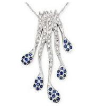 Wholesale Pendant(Diamond & Sapphire Pendant ) from china suppliers