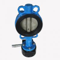 Wholesale Industrial butterfly wafer valve With Gearbox , PN 10 Bar Hand / Manually Operated from china suppliers