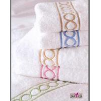 Wholesale 70 * 140cm Printed 100 % Cotton White Family Hotel Bath Towel for Girls from china suppliers