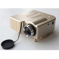 Wholesale Home Entertainment Mini LED Projectors Golden Color Support JPEG MP4 Display from china suppliers
