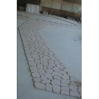 Wholesale Cream White, Light Pink Granite Pavers, Granite Paving Stone from china suppliers